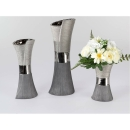 Formano Vase 11x20cm Luxor-silber   715715