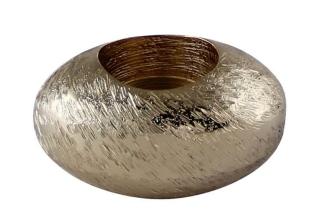 Kaheku Teelichthalter Topaz hellgold 9x7x5h 519007138