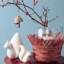 Leonardo Vase/WL mit Geflecht Castagna 16508
