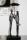 """Casablanca Skulptur """"Umbrella"""" Poly,ant.silber m.schwarzer Base,Höhe .36cm Breite 14cm Anhänger mit Spruch 179129"""