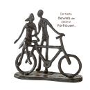 "Casablanca Design Skulptur ""Pair on Bike""..."