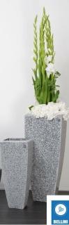 Bellini Vase Berit Cristale 59 cm anthrazit 410646