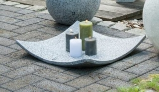 Bellini Schale flach Bendik Cristale 35,5 cm anthrazit 410701
