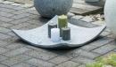 Bellini Schale flach Bendik Cristale 35,5 cm anthrazit...
