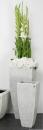 Bellini Vase Berit Cristale 82 cm creme 410657