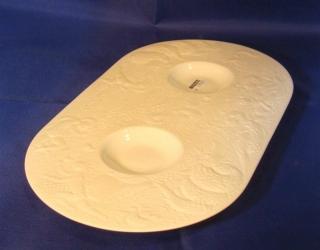 Rosenthal Zauberflöte Tablett für Zucker/Milchkännchen 30,5 cm