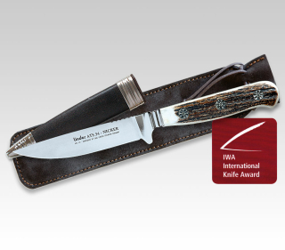 Linder ATS34 Nicker. 2007 International Knife Award Sieger! 166410