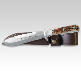 Linder Trapper Messer mit Hirschhorngriff 178415