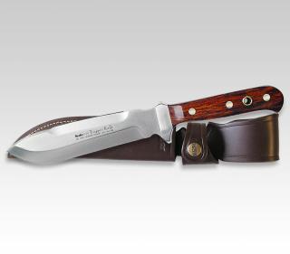 Linder Trapper Messer mit Cocoboloholz-Griff 178515