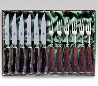 Rehwappen Steakbesteck 299612