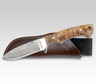 Jagdmesser mit Damaststahl-Klinge 350407