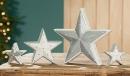 """Gilde Keramik Stern """"Stars""""  stehend, glasiert,..."""