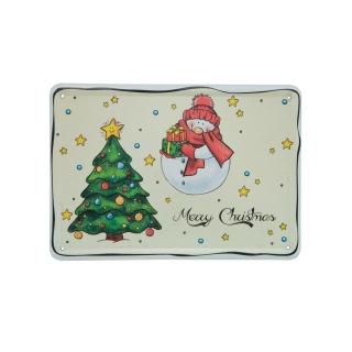Goebel Postkarte Fredi & Bolli Weihnachten I Love Christmas 37000041
