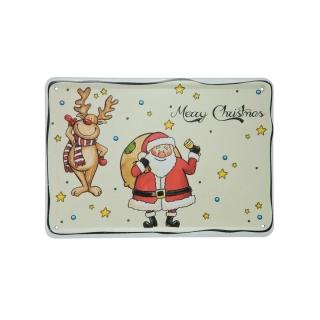 Goebel Postkarte Rudi & Clausi Weihnachten I Love Christmas 37000031
