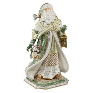 Goebel Santa im grünen Mantel Fitz and Floyd Fitz & Floyd Christmas Collection 51000351