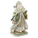 Goebel Santa im grünen Mantel Fitz and Floyd Fitz...