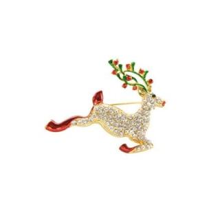 Goebel Brosche - Reh Fitz and Floyd Fitz & Floyd Christmas Collection 51000551 Neuheit 2018