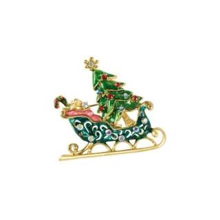 Goebel Brosche - Schlitten Fitz and Floyd Fitz & Floyd Christmas Collection 51000631 Neuheit 2018