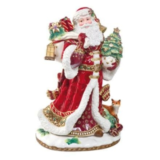 Goebel Santa mit Geschenken Fitz and Floyd Fitz & Floyd Christmas Collection 51000411