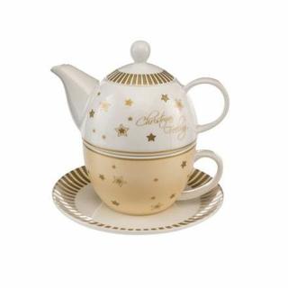Goebel Christmas Feeling - Tea for One Weihnachten Weihnachtliche Accessoires 66720011 Neuheit 2018