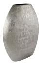 Kaheku Vase Abius oval silber 27x7,5x34,5h  1211000197