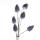 "Casablanca Foam Flower ""Coimbra"" dunkel blau Länge 115cm, Durchmesser 7cm 138377"