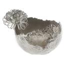 "Casablanca Schale/Vase ""Antiqua"" Alu vernickelt..."