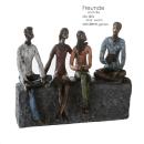 "Casablanca Skulptur ""Network"" bronce/bunt graue..."