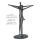 "Casablanca Skulptur ""Solidarity"" Poly Pärchen,antik silberfarb auf grauer Basis Höhe 37cm Breite 27cm Tiefe 11cm 179686"