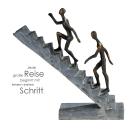 """Casablanca Skulptur """"Staircase"""" Poly,bronzefin...."""