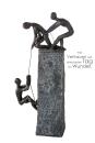 "Casablanca Skulptur ""Assistance"" bronce/dunkel..."