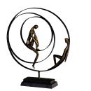 """Casablanca Skulptur """"Patience"""" bronce,Höhe..."""
