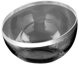 Fink PLATINUM Schale,grau,m.Platinum Höhe 12, Ø 32cm 114001