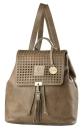 """Gilde Backpack """"Bella"""" Hunt0370  cognac 30x40..."""