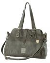 """Gilde Shopper Tasche """"Electra"""" Hunt0370 grau,..."""