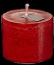 Mosaik Outdoor XXL Kerze  12x20 cm Basic  rubin 0122026
