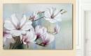 Gilde Bild Magnolia weiß, blau, rot Länge 61,0 cm Breite 4,0 cm Höhe 91,0 cm 38838