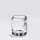 Lambert Salvatore Vase/Becher Kristallglas klar, H 10 cm,...