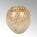 Lambert Salviato Windlicht / Vase gold, H 12 cm, D 12 cm,...