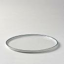 Lambert Piana Teller Porzellan, D 27 cm, Dekor Rand...