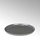 Lambert Piana Teller, rund Stoneware, anthrazit D 21,5 cm...