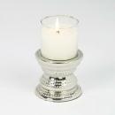 Lambert Makani Windlicht Mini mit Kerze Sockel Metall...