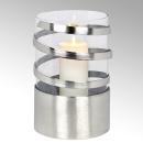 Lambert Spiral Windlicht Aluminium groß matt...