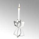 Lambert Serafin Kerzenhalter Engel Stahl stehend klein...