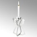 Lambert Serafin Kerzenhalter Engel Stahl stehend...