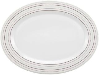 Seltmann & Weiden Platte oval 31 cm No Limits Cream Lines 1720976