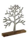 Kaheku Baum Herbol silber vernickelt 30,5h Aluminium...