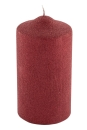 Fink CANDLE Stumpe,Glamour,rot  Höhe 15cm, Ø...