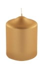 Fink CANDLE Stumpenk.,metallic,gold,get.  Höhe 10,...