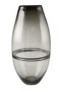 Kaheku Vase Zenika grau, Durchmesser 17 cm, Höhe 35 cm  1186001605